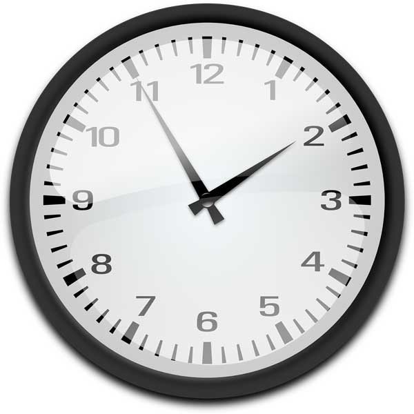 Picture of a clock