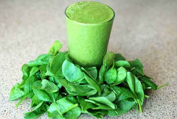 Leafy green smoothie