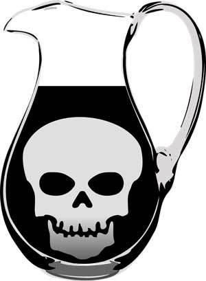jug med toxic water