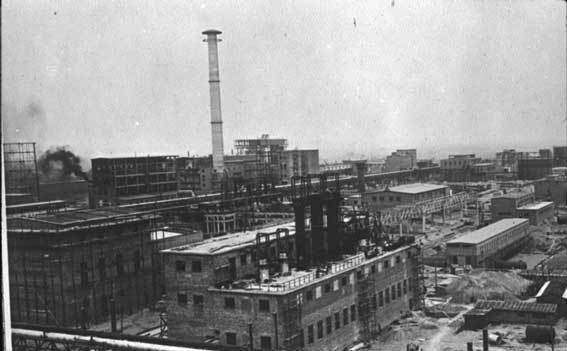 IG-Farben factory in Auschwitz