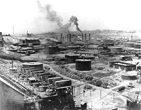 standard oil refinery