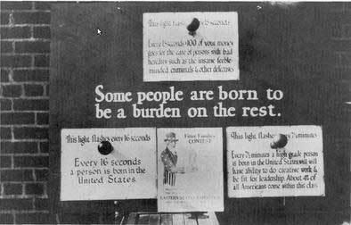 U.S. depopulation poster