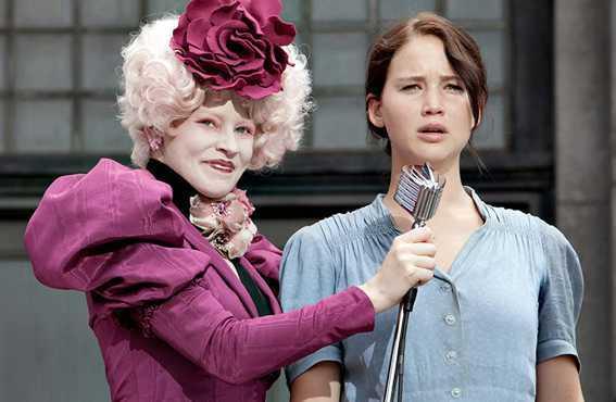 Elite woman with Katniss Everdeen