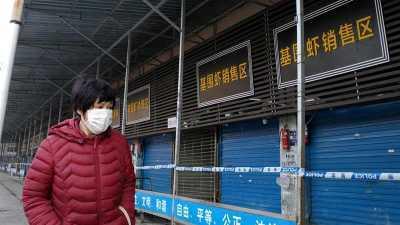 Wuhan sea market