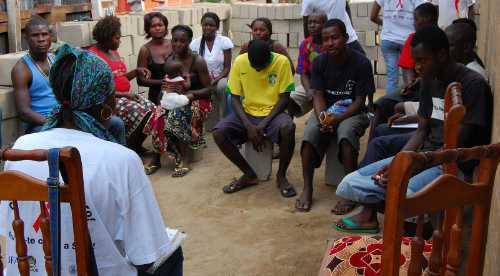 Angolan HIV AIDS outreach