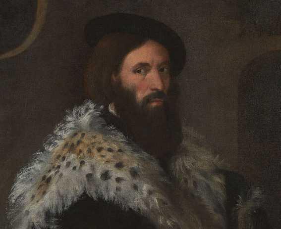 Titian Girolamo Fracastoro portrait