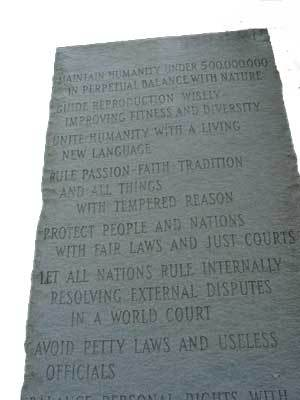 Georgia guidestone