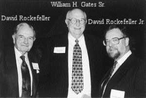 Bill Gates Sr. with The Rockefellers