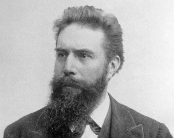 Portrait of Wilhelm Röntgen