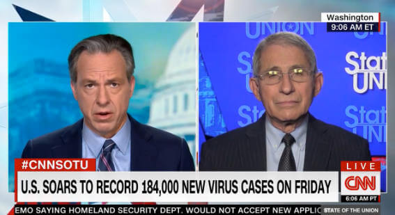 Anthony Fauci CNN interview