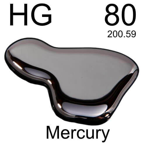 Picture showing mercury and HG 80