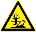 Environment hazard symbol