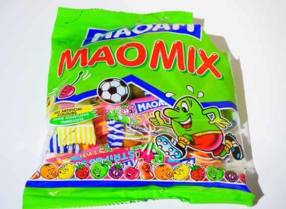 Candy plastic bag