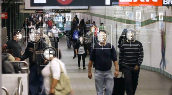 Security cameras surveillance people
