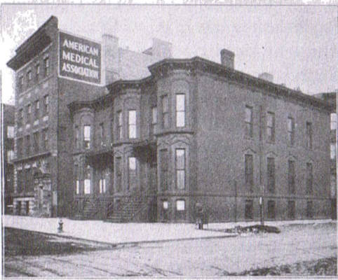 Headquarters of the AMA in 1910
