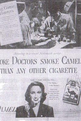 Cigarette ad in JAMA