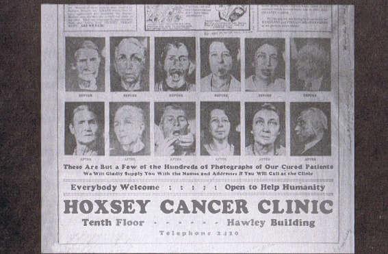 Hoxsey ad