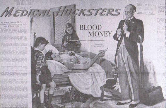 Medical Hucksters article